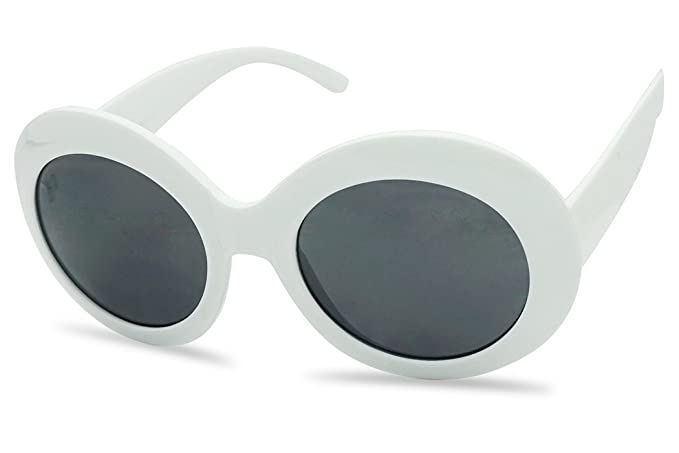c4123288da Sunglassup oversized round supreme women sunglasses thick clout goggle  fashion frame white frame black jpg 679x453