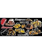 Heavy Equipment Sticker Pack