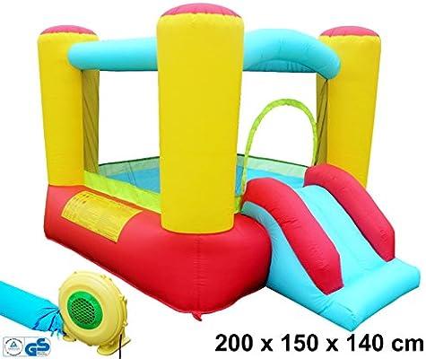 Castillo hinchable multicolor de Izzy Sport, para jugar, con ...