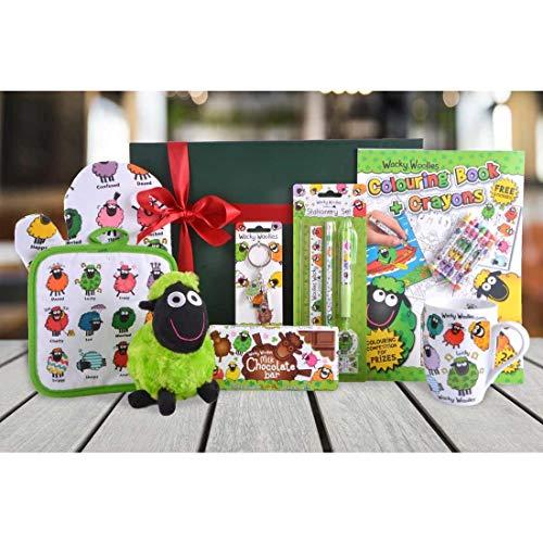Wacky Woollies Colourful Irish Gifts (Festive Treat Hamper)