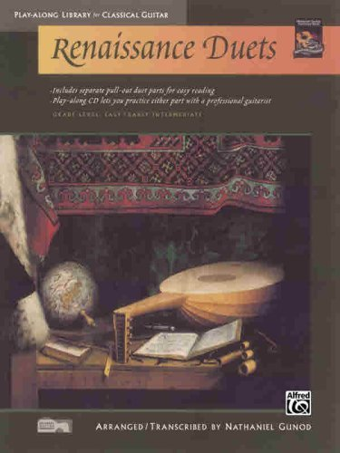 Renaissance Duets Book - Renaissance Duets (Play-Along Library for Classical Guitar)