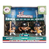 Party Animal Toys Lil' Teammates 3 Figurine Minnesota Twins MLB Team Set (Pack of 3)