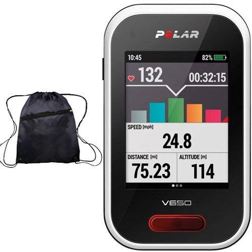 Polar - V650 Cycling Computer with Bag