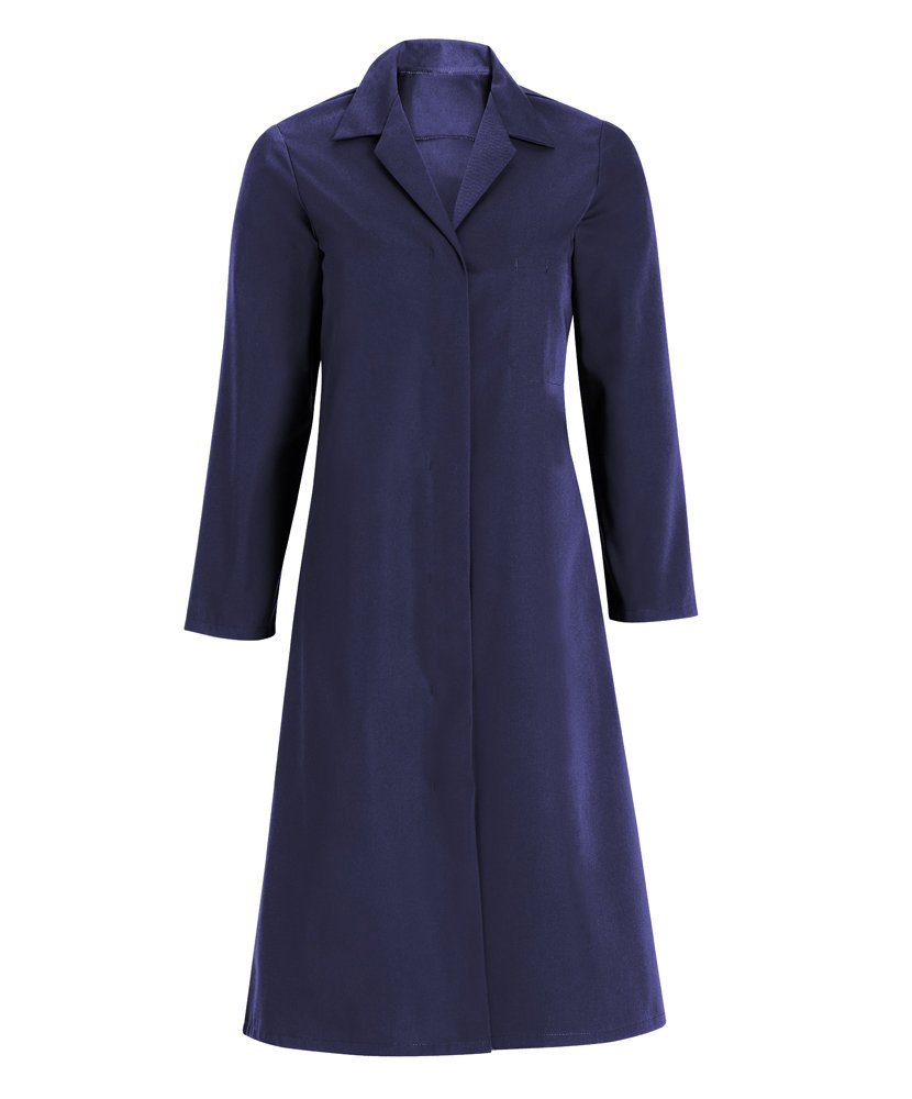 Alexandra STC-WL90NA-M Women's Coat, Plain, 67% Polyester/33% Cotton, Size: Medium, Navy