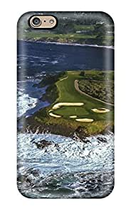 High Quality Dan Larkins Pebble Beach Golf Course Skin Case Cover Specially Designed For Iphone - 6