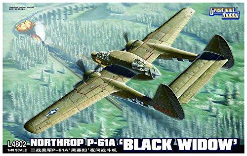 グレートウォールホビー 1/48 P-61A ブラックウィドウ L4802 プラモデルの商品画像