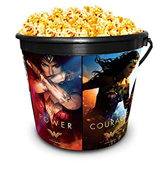 DC Comics: Wonder Woman Movie Theater Exclusive 170 Plastic Popcorn Tub