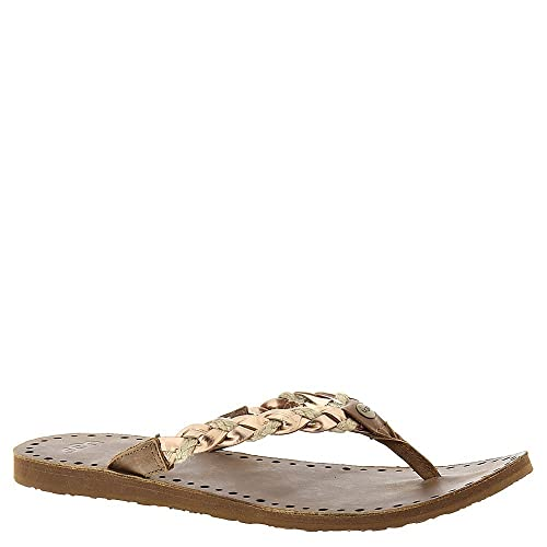 26a4500d7f7 UGG Women's Navie Rose Gold Leather Sandal 5 B (M): Amazon.ca: Shoes ...