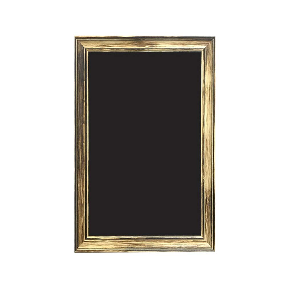 LIANGJUN Message Board Chalkboards Wooden Rectangle Display Signage Wedding Menu Card Customizable Chalk Writing, 7 Sizes (Color : A, Size : 30x50CM) by LIANGJUN-lyj