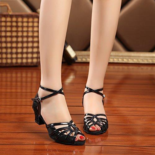Minitoo - salón mujer Black-5cm Heel