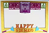 Frame Mexican Party Photo Booth Party Props/ Marco Fiesta mexicana