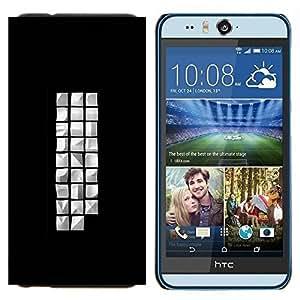 TECHCASE---Cubierta de la caja de protección para la piel dura ** HTC Desire Eye ( M910x ) ** --diferente cude