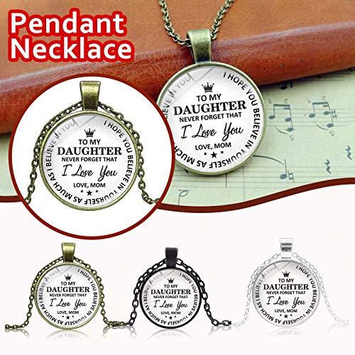 WYILIY Retro Christmas Fashion Original Handmade Antique Necklace Pendant Jewelry