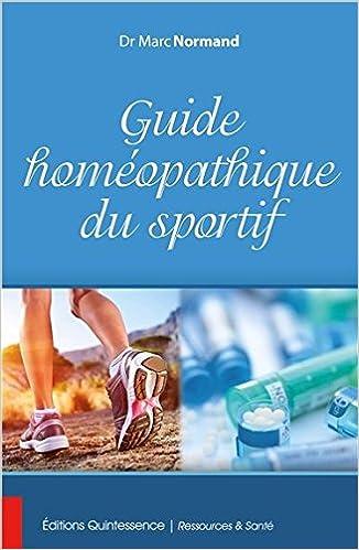 Guide homéopathique du sportif pdf