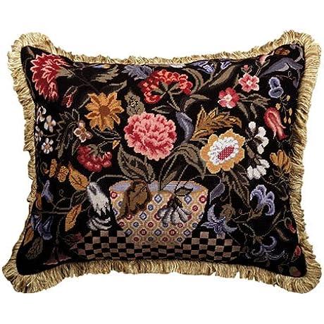 Deluxe Pillows Orvieto 16 X 20 Petit Point Pillow