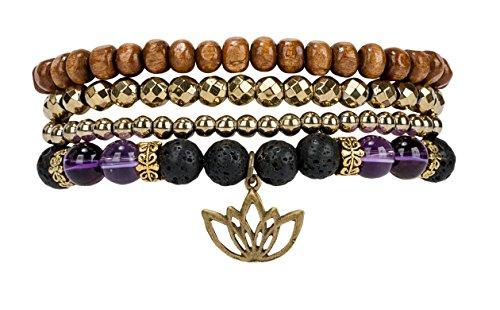 SPUNKYsoul Beginnings Bracelet Hematite Collection