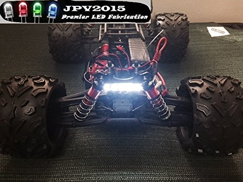 JPV2015 Genuine Product - Water-resistant RC LED WHITE 5 SMD LIGHT BAR FOR TRUCKS, CARS, CRAWLERS, AND MORE! - Premium Quality - Handmade in USA exclusively - Tie Rc Bar