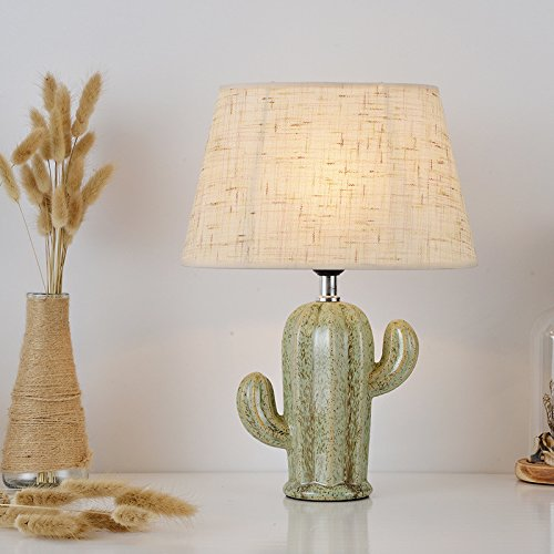 Cactus Lamp Table Lamp Home Decoration Cactus Decor Simple Design Desk Lamp for Living Room Bedroom,with Bulb by Dengbaba (Image #6)