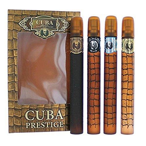 Cuba Prestige by Cuba, 4 Piece Gift Set for Men by Cuba