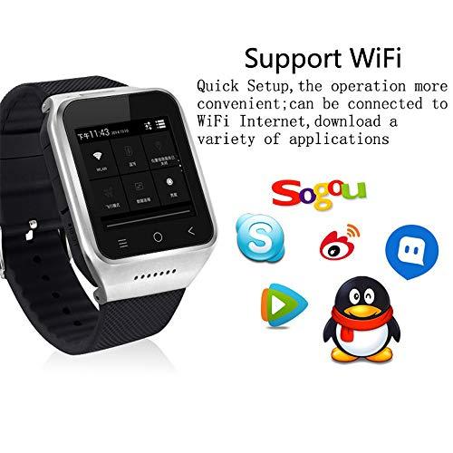WIFi GPS 3G Smallest Smartwatch Phone,Upxiang 3G Smart Watch Ultra 1+16G...