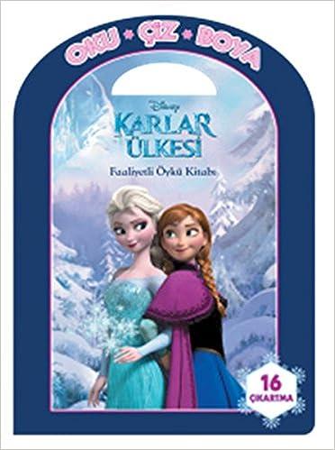 Disney Oku Ciz Boya Karlar Ulkesi Faaliyetli Oyku Kitabi Kolektif
