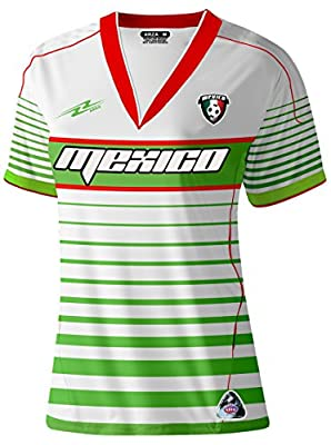 Mexico Slim Women Soccer Jersey New Style Exclusive Design
