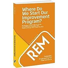Where Do We Start Our Improvement Program Cover