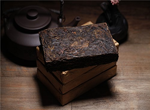 Aseus Yunnan Lincang brick tea born Pu'er Tea Jingmai wild ancient old brick tea 4 tablets 1000 grams by Aseus-Ltd