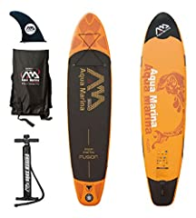 The fusion gets its reputation as an excellent flat-water cruising board, with its length and proportion, providing excellent glide fro cruising, exploring and fitness. An extremely comfortable and effortless board. Also includes center fin, ...