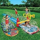 Banzai 16' Aqua Blast Obstacle Course Slide