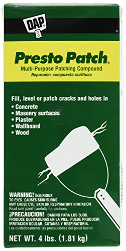 Dap 58505 Presto Patch Multi Purpose Patching Compound 4Pound