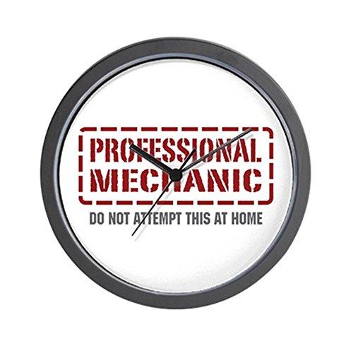 CafePress - Professional Mechanic Wall Clock - Unique Decorative 10