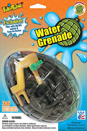 Pioneer National Latex Water Grenade Fun Pack, Dark Green -
