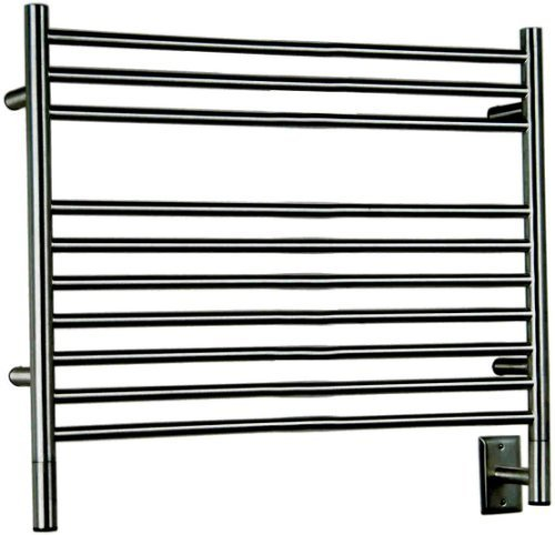 Amba LSB-40 39-1/2-Inch x 27-Inch Straight Towel Warmer, Brushed by Jeeves ()