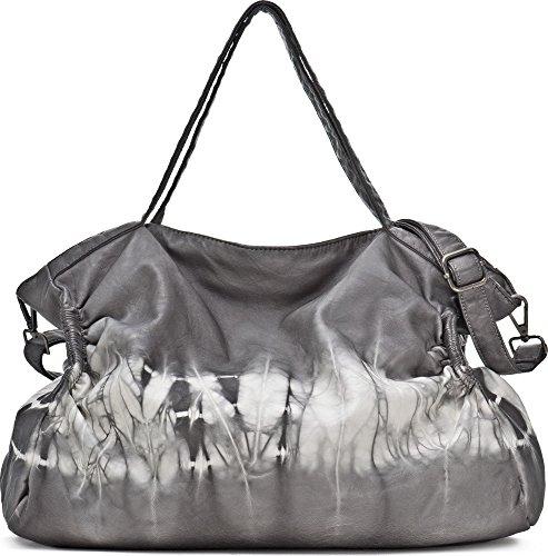 MIYA BLOOM, Bolsos de señora, Shopper, Tote-Bags, 38 x 43 x 2 cm (An x Al x pr), color: Beige naturaleza