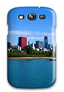 Galaxy S3 Case Slim [ultra Fit] Chicago City Protective Case Cover