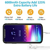 iPhone Xs Max Battery Case,Vocalol 6000mAh Portable