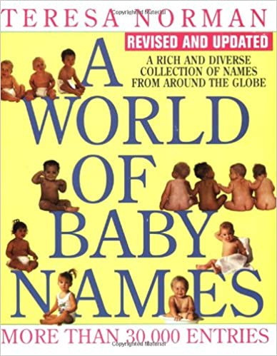 Book A World of Baby Names