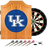 Trademark Gameroom University of Kentucky Wood Dart Cabinet Set - Wordmark