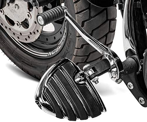 V-Rod Muscle Chrome Repose-Pieds FP11 pour Harley Dyna Switchback//Wide Glide