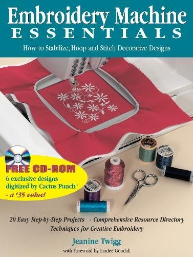 Machine Embroidery Stitches - Embroidery Machine Essentials: How to Stabilize, Hoop and Stitch Decorative Designs
