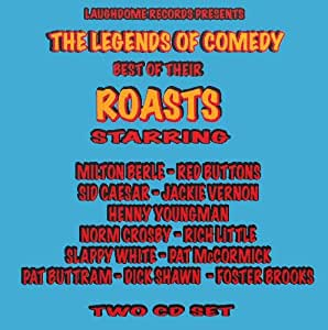 Milton Berle hosts The Legends of Comedy - Best of Their Roasts - 2 CD Gift Set - Explicit Language