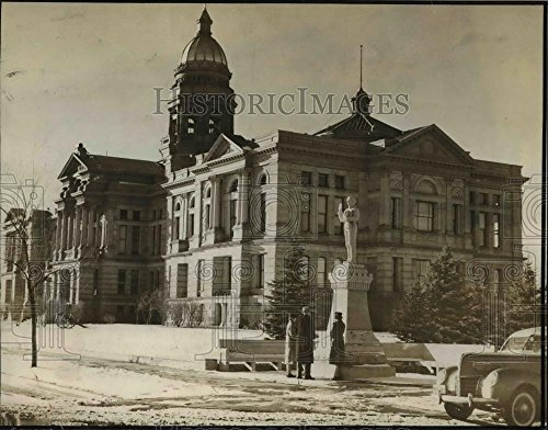 1939 Press Photo Wyoming State Capitol building at Cheyenne - orb60000