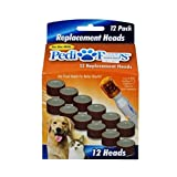 Telebrands Pedi Paws Replacement Filing Heads 12 Replacement Heads