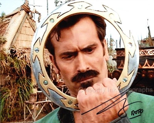 BRUCE CAMPBELL as Autolycus - Xena: Warrior Princess Genuine Autograph from Celebrity Ink