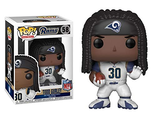 4b10f00e710 Funko POP NFL: Los Angeles Rams Todd Gurley Action Figure (New)