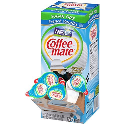 NESTLE COFFEE-MATE Coffee Creamer, Sugar Free French Vanilla
