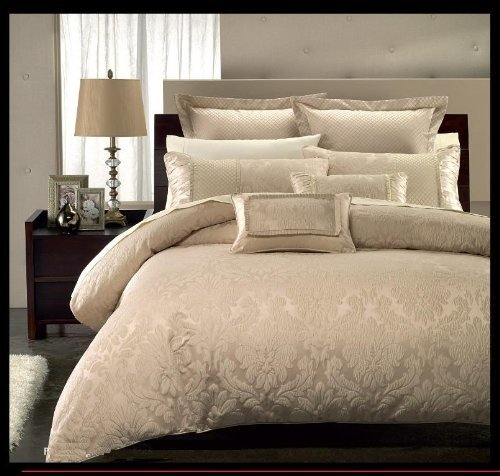 8PC Luxury King Size Sara Bed in a Bag By Royal Hotel Collection