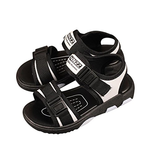 VEMOW New Kids Shoes Baby Boy Girl Sandals Warm Ankle Boots Zipper Child Chelsea Sports Outdoor Flats Flip Flops Lace-up Toddler Closed Toe Summer Beach Sneakers F-white OWg45iZl