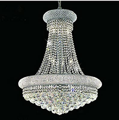 Phube Lighting French Empire Gold Crystal Chandelier Chrome Chandeliers Lighting Modern Chandelier